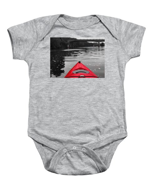 Kayaking The Occoquan Baby Onesie