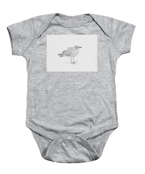Kelp Gull Baby Onesie