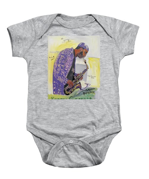 Kenny Garrett Baby Onesie