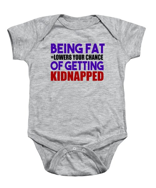Kidnapped Chances Baby Onesie