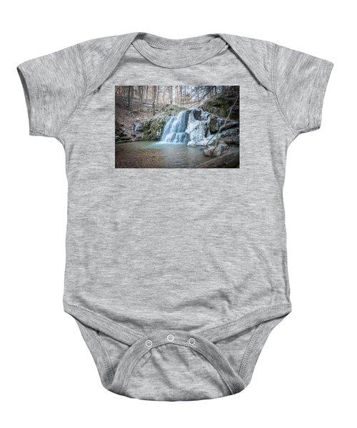 Kilgore Falls In Winter Baby Onesie
