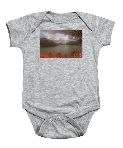Kinzua Lake Baby Onesie