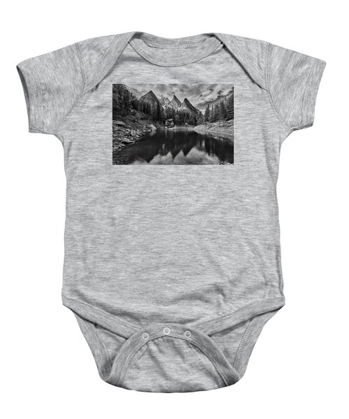 Lake In The Alps Baby Onesie