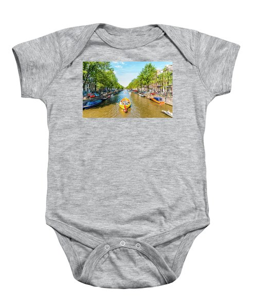 Lazy Sunday On The Canal Baby Onesie