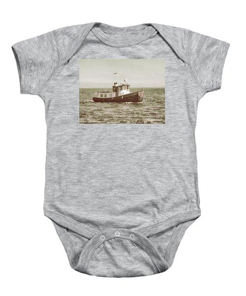 Lil Tugboat Baby Onesie