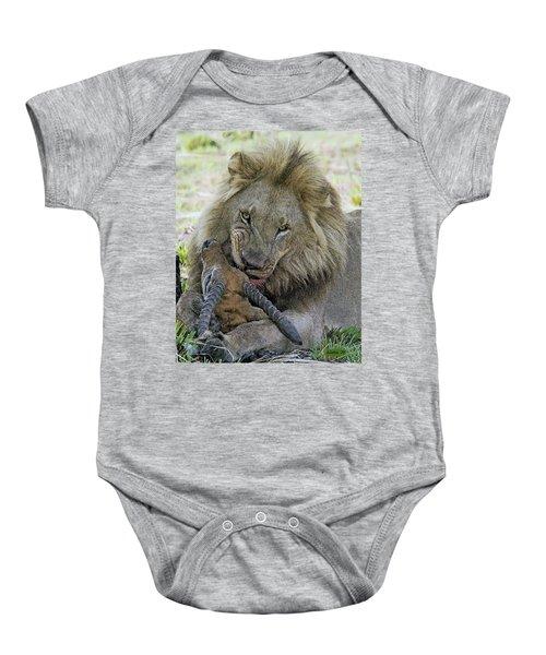 Lion Prey Baby Onesie