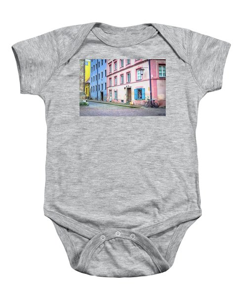 Lonely Bicycle Baby Onesie
