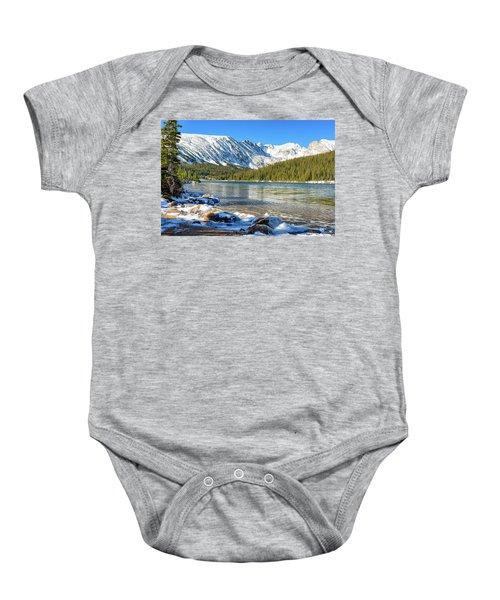 Long Lake Baby Onesie