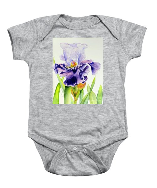 Lovely Iris Baby Onesie