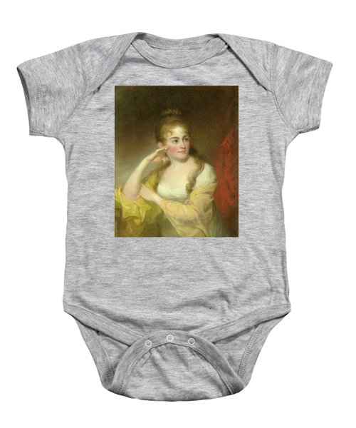 Portrait Of Lydia Leaming, 1806 Baby Onesie