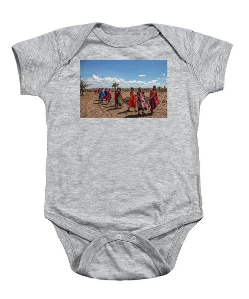 Maasi Women Baby Onesie