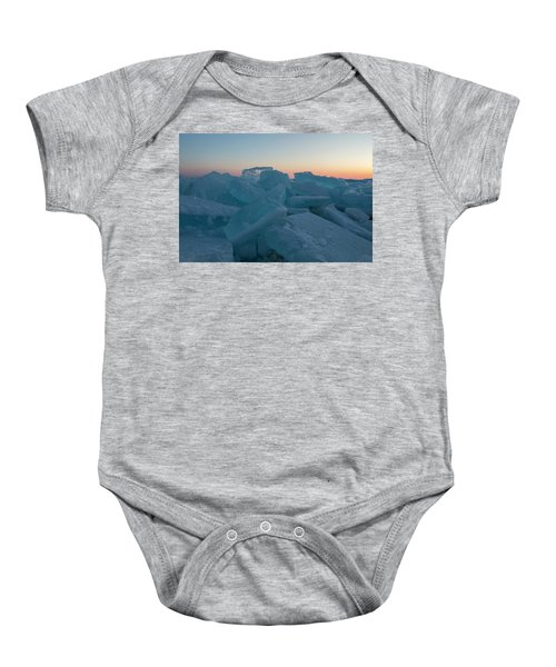 Mackinaw City Ice Formations 2161808 Baby Onesie