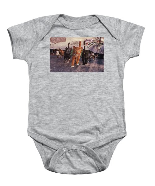 March Of The Mau Baby Onesie