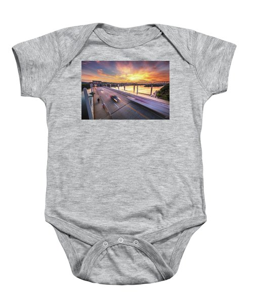 Market Street Commuters Baby Onesie
