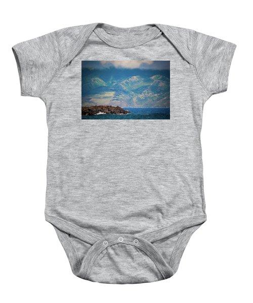 Maui Fisherman Baby Onesie