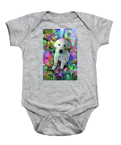 Max In The Garden Baby Onesie
