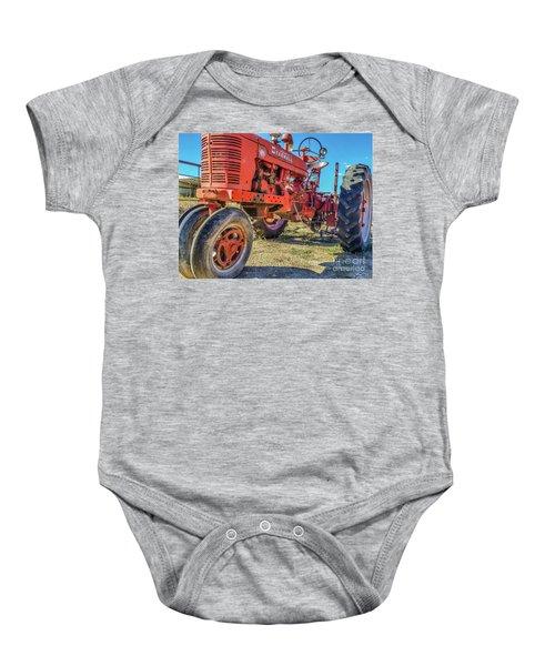 Mccormick Farmall Baby Onesie