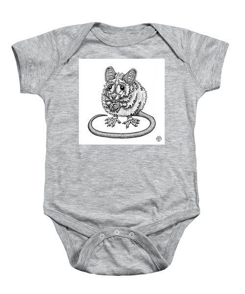 Meadow Jumping Mouse Baby Onesie