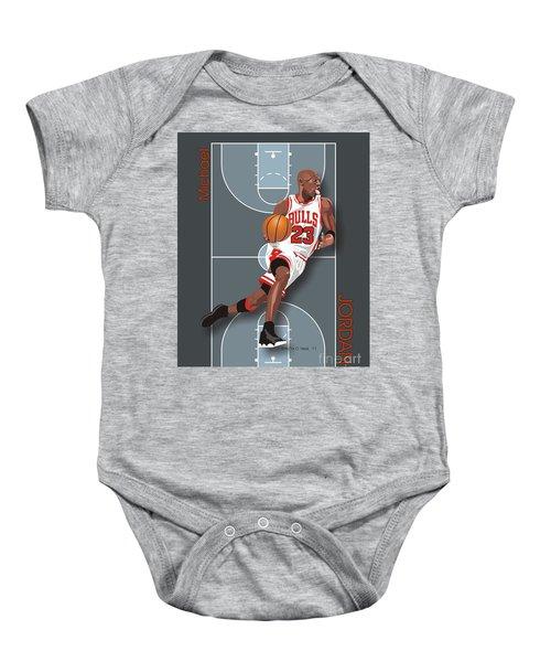 Michael Jordan, No. 23 Baby Onesie