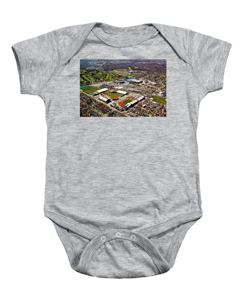 Michigan Stadium Baby Onesie