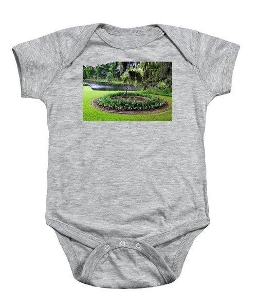 Middleton Gardens Mill Pond Baby Onesie