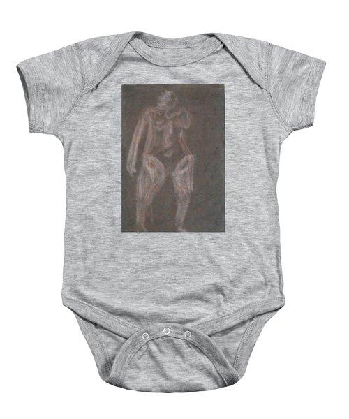 Model Named Helene Four Baby Onesie