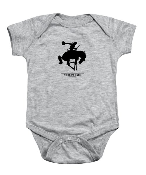 Moores Cafe Wyoming 1946 Baby Onesie