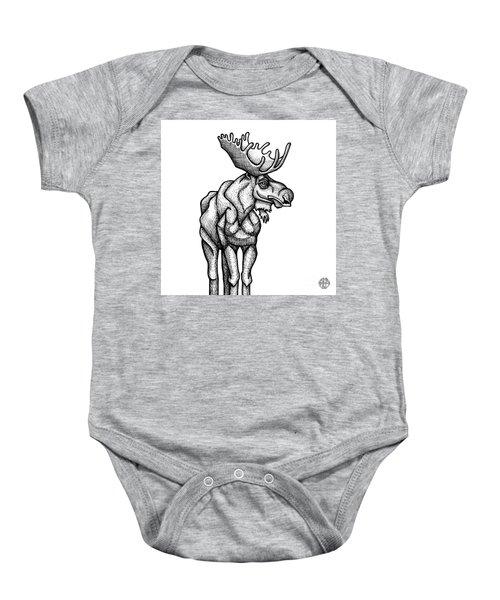 Moose Baby Onesie