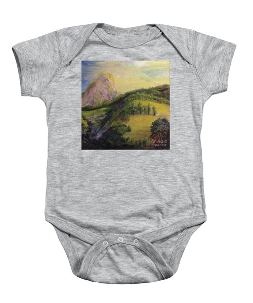Moro Rock, Kings Canyon Baby Onesie