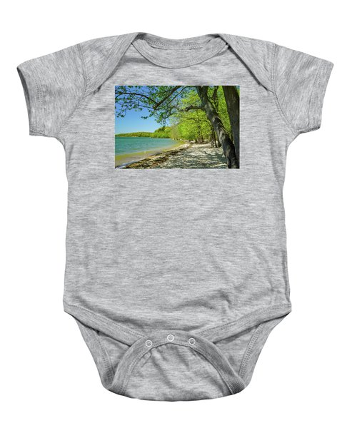 Moss Creek Beach Baby Onesie