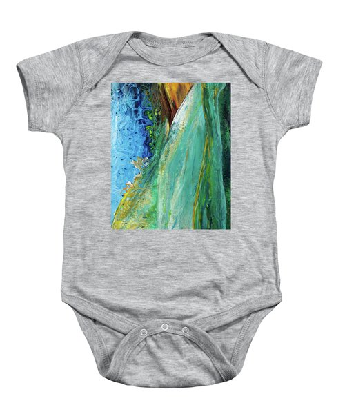 Mother Nature - Portrait View Baby Onesie