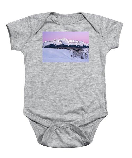 Mt Wilson Baby Onesie