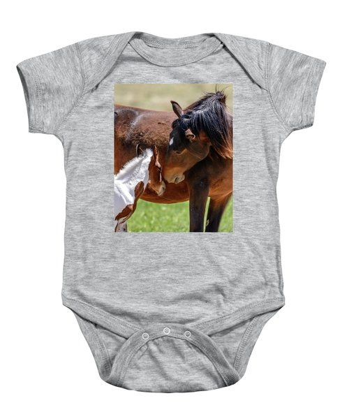 Baby Onesie featuring the photograph My Little One by Mary Hone