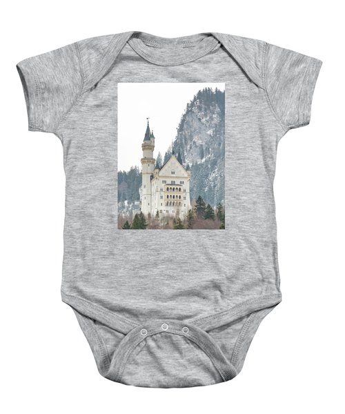 Neuschwanstein Baby Onesie