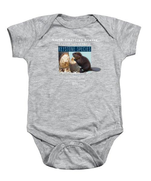 North American Beaver Baby Onesie