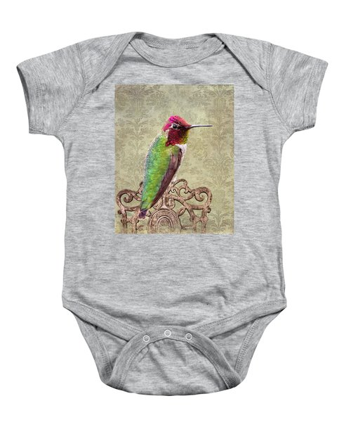 Baby Onesie featuring the photograph Not Too Shabby by Mary Hone