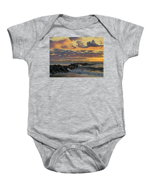 Ob Sunset No. 3 Baby Onesie