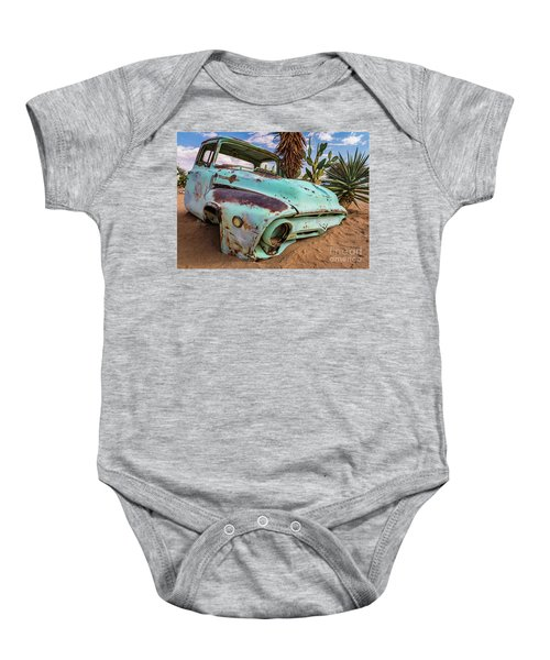 Old And Abandoned Car 7 In Solitaire, Namibia Baby Onesie