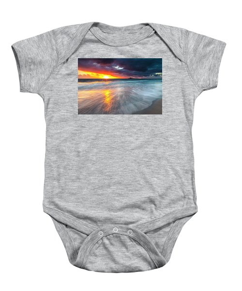Old Lighthouse Baby Onesie