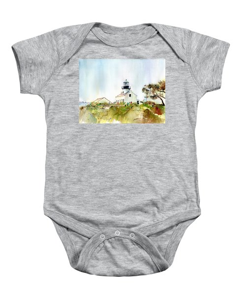 Old Point Loma Light Baby Onesie