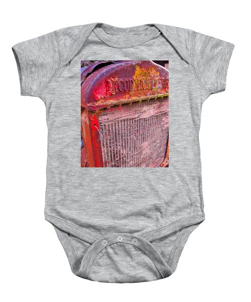 Old Red Baby Onesie