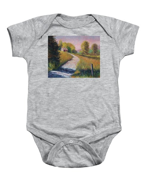 Old Road Baby Onesie