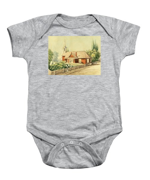 Old Swedes' Church, Southwark, Philadelphia Baby Onesie