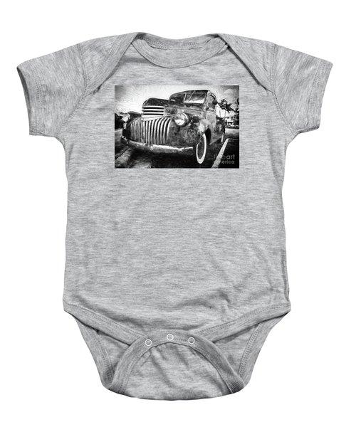 Old Truck  - Painterly Baby Onesie