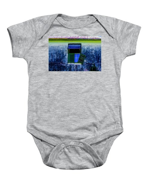 Old Window 3 Baby Onesie