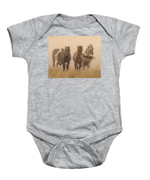 Out Of The Dust Baby Onesie