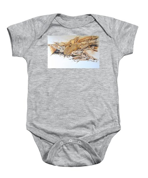 Painted Lady Butterfly Baby Onesie