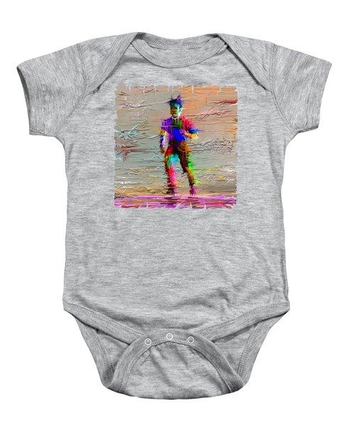 Painted Man Baby Onesie