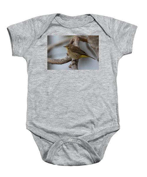 Palm Warbler Baby Onesie