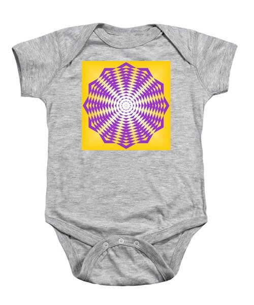 Passionate Purple  Baby Onesie